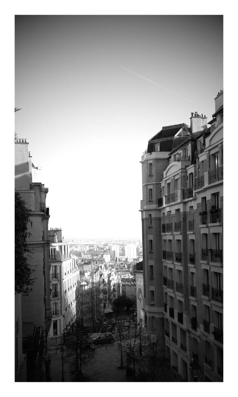 Montmartre noir et blanc