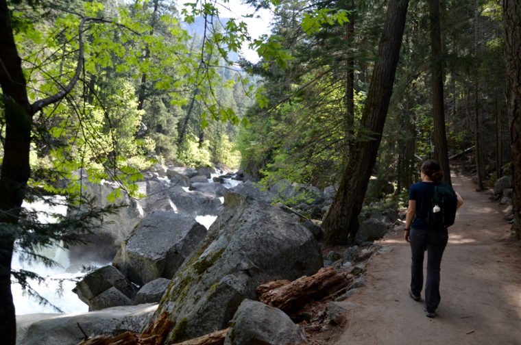 Yosemite-vernall-falls-trail-pauline-c-w-bound
